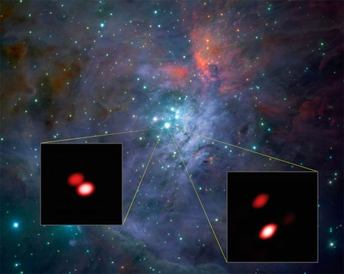 GRAVITY discovers new double star in Orion Trapezium Cluster
